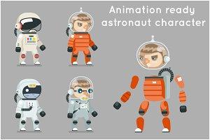 Cosmonaut Astronaut