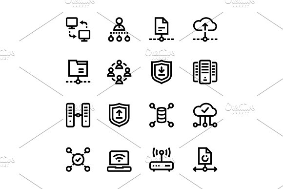 Internet Network Wifi Icons Pack 3