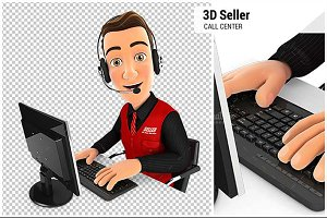 3D Seller Call Center