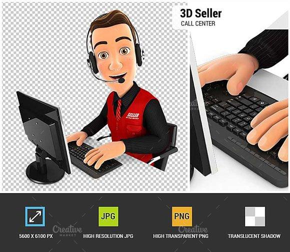 3D Seller Call Center