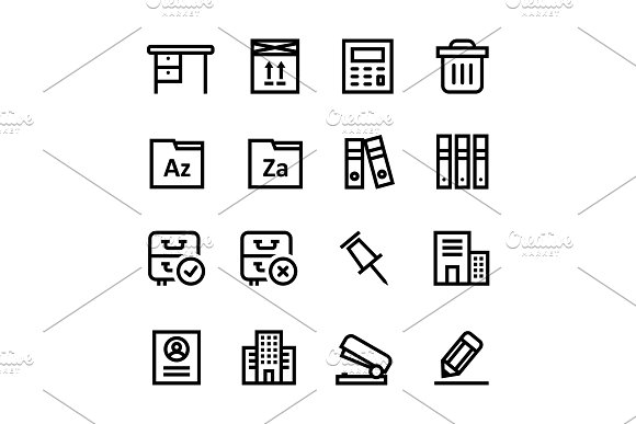 Document, Office Icons Pack 3