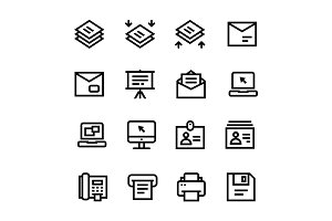 Document, Office Icons Pack 4