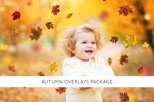 Autumn overlays package