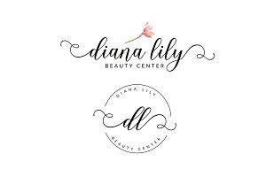 Diana Lily Premade Logo