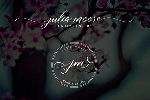 Julia Moore Premade Logo