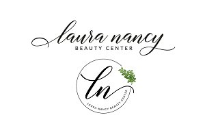 Laura Nancy Premade Logo