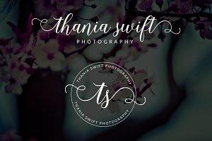 Thania Swift Premade Logo