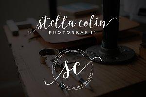 Stella Colin Premade Logo