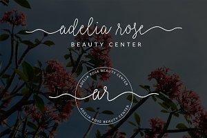 Adelia Rose Premade Logo