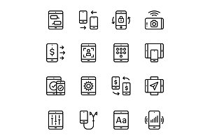 Device, Smartphone Icons Pack 2