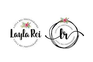 Layla Rei Premade Logo