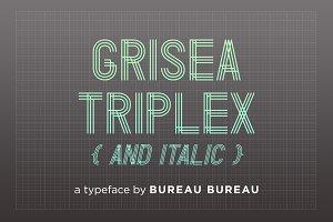 Grisea Triplex & Italic