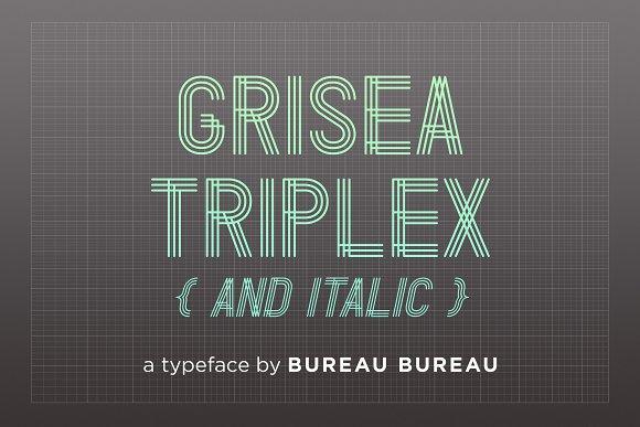Grisea Triplex Italic
