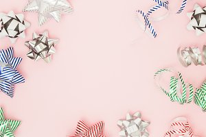 Festive wrapping bows