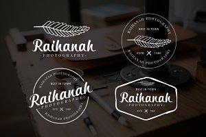 Raihanah Premade Logo