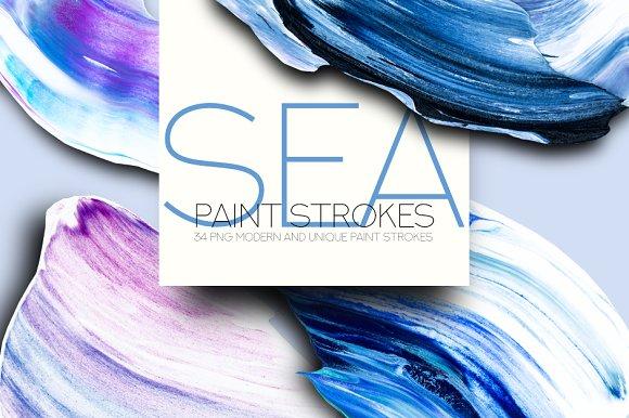 SEA Paint Strokes in Objects