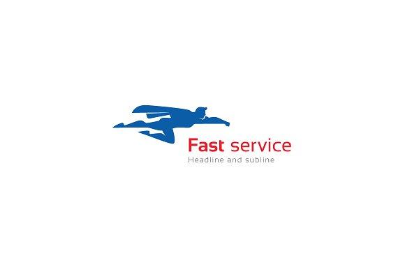 Fast service logo