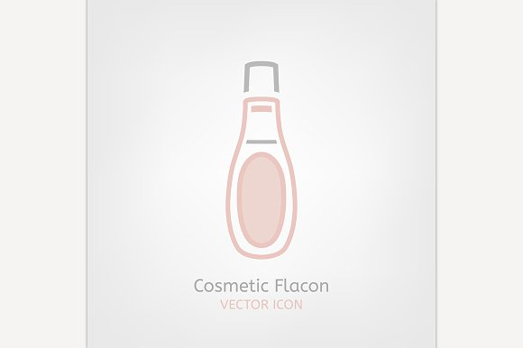 Cosmetic Flacon Icon