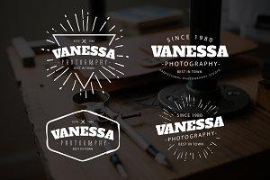 Vanessa Premade Logo