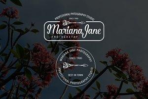 Mariana Jane premade Logo