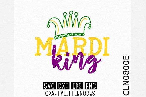 Mardi Gras King SVG