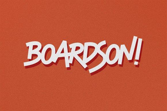 Boardson Type