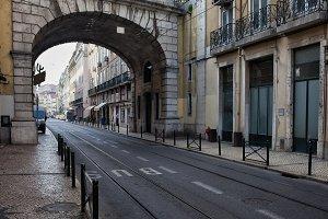 Rua de S. Paulo Street in Lisbon