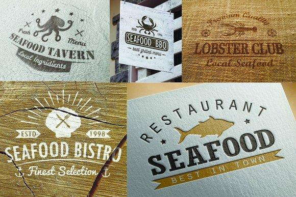 Seafood Logos