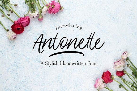Antonette Handwritten Font