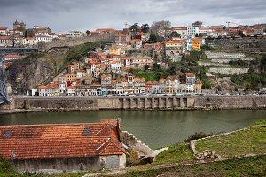 Porto City Cityscape In Portugal
