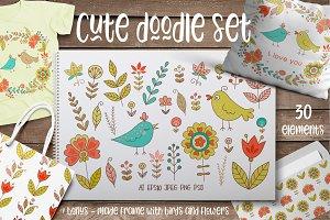 Cute Doodle set