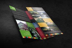 Tri Fold Brochure Mockup 03