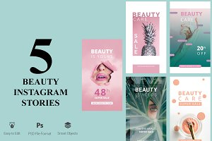 5 Beauty Instagram Stories