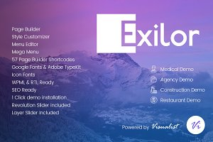 Exilor Multipurpose WordPress Theme