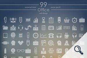99 OFFICE icons