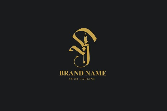 K Monogram Logo Template