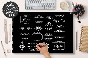Decorative Flourish Ornament Vectors