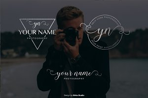 Simple Your Name Premade Logo