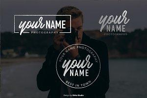 Bold Your Name Premade Logo