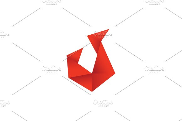 Low Poly Fire Flame Colored Polygons Style Illustration Of A Modern Design
