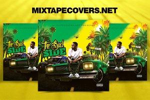 Bad Side Mixtape Cover Design