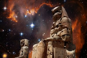 Colossus Memnon & Magellanic cloud