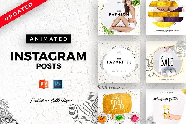 PATTERN Animated Instagram Posts