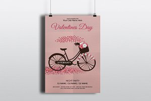 Valentines Day Invitation Flyer V730