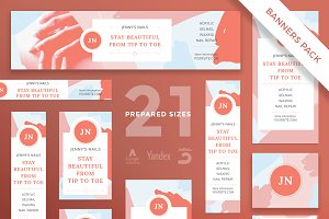 Banners Pack | Nail Studio