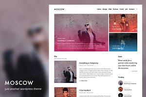 Moscow - WordPress Theme