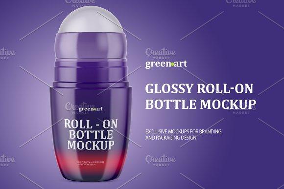 Roll-on Bottle Mockup