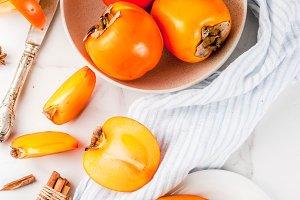 Persimmon fruit smoothie
