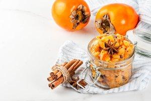 Persimmon fruit Chutney