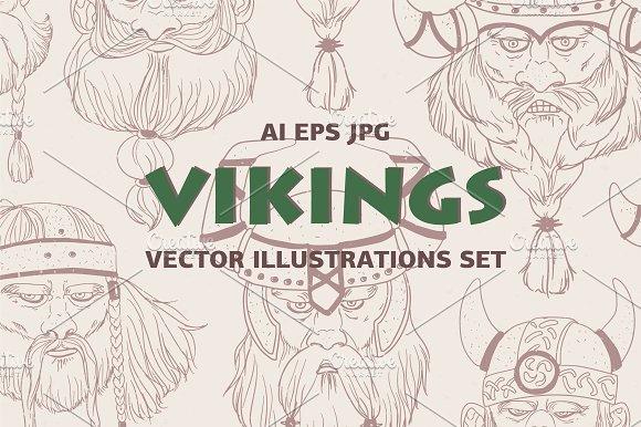Set of vikings